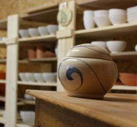 Atelier de poterie dans l'Herault