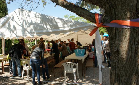 Journée porte ouverte Domaine du Mas Brunet pique Nique