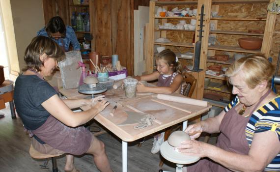 Stage poterie durant les vacances