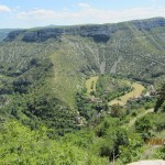 Le cirque de Navacelle se situe dans le Languedoc-Roussillon site classé depuis 1943