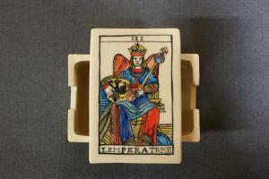 création d'une boîte pour jeu de tarot