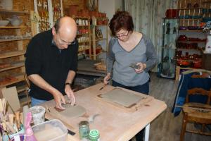 Cours de poterie découverte du travail de la terre