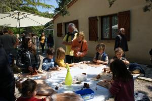 atelier initiation poterie journée porte ouverte du Domaine Mas Brunet